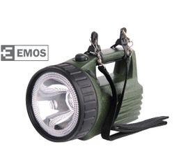 LED baterka EMOS nabíjateľná halogénová 3810 3W LED