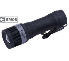 LED Baterka EMOS plastová 3W LED, na 3x AAA, FOKUS