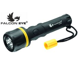 LED Baterka Falcon Eye Rubber, 3x Cree LED, pogumované telo