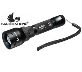 LED baterka Falcon Eye ALPHA FOCUS 2.4 s USB nabíjaním + Li-ion 18650 2200mAh 3,7V