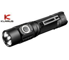 LED Baterka Klarus G10, USB nabíjateľný + aku Klarus GT18650 3600mAh 3,6V, Praktik Set