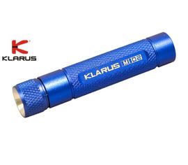 LED Baterka Klarus Mi02 - Modrá
