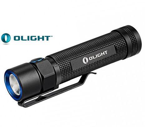 LED Baterka Olight S2R Baton, USB nabijací, Praktik Set