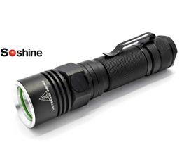LED Baterka Soshine TC10, USB nabíjateľný, Praktik Set