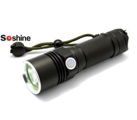 LED Baterka Soshine TC12 USB nabíjateľný, Praktik Set