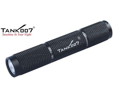 LED Baterka Tank007 TK703 čierna