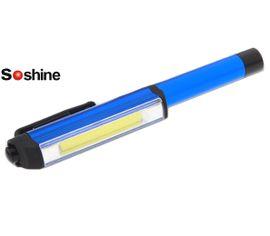 LED baterka v tvare pera Soshine TC11 - Modrá