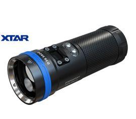 LED baterka Xtar D36 5800 2019, vodotesná do 100m, Praktik Set
