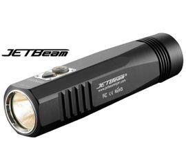 LED bicyklové svietidlo JETBeam BR10 GT Praktik Set - Čierne
