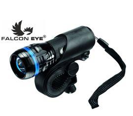 LED bicyklové svietidlo - LED baterka Falcon Eye Cree 5W LED ZOOM