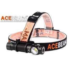 LED Čelovka Acebeam H15 - Čierna
