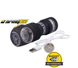 LED Čelovka Armytek Tiara C1 XP-L USB nabíjateľný Praktik Set
