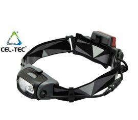 Nabíjateľná LED Čelovka CEL-TEC HL300