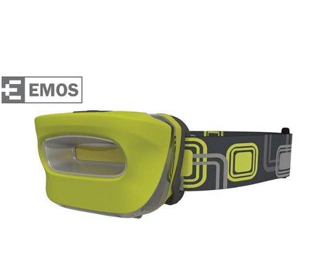 LED čelovka EMOS 3xAAA COB
