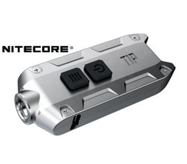 LED kľúčenka Nitecore TIP SS 2017 - Strieborná aa9b7f9acba