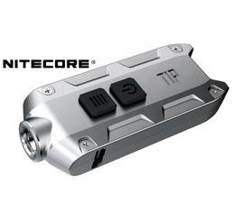 LED kľúčenka Nitecore TIP SS 2017 - Strieborná