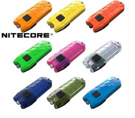 LED kľúčenka Nitecore TUBE.V2.0 - Rôzne farby tela