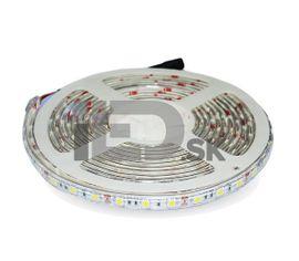 LED pás 7.2W/m 600lm/m 120LED/m IP65 červená farba