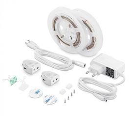 LED pás V-TAC 6W s pohybovým senzorom pod posteľ, 520lm, 30LED/m IP20, dĺžka 2x 1,2m