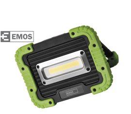 LED reflektor/ Power bank prenosný EMOS so vstavaným akumulátorom 4400mAh, 10W, 1000lm