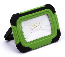 LED reflektor prenosný V-TAC so vstavaným akumulátorom 3600mAh, 10W, 700lm
