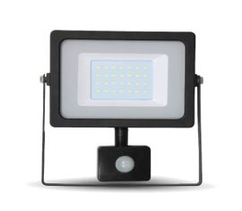 LED reflektor SMD 30W 2550lm SLIM biely so senzorom