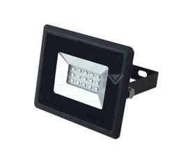 LED reflektor V-TAC 10W, 850lm E-SERIES, Slim, čierny