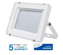 LED reflektor V-TAC 150W, 12000lm, SAMSUNG CHIP Slim biely - 5 ROČNÁ ZÁRUKA!