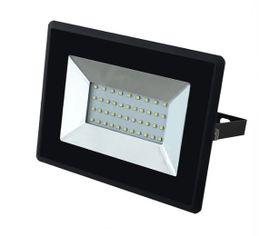 LED reflektor V-TAC 30W, 2550lm, E-SERIES, Slim, čierny