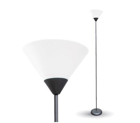 Stojanová lampa čierna