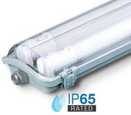 LED trubicové prachotesné svietidlo V-TAC 2x 18W, 3400lm, 120cm, IP65