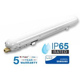 LED trubicové prachotesné svietidlo V-TAC 60W, 7200lm, 120cm, IP65, SAMSUNG CHIP - 5 ROČNÁ ZÁRUKA!