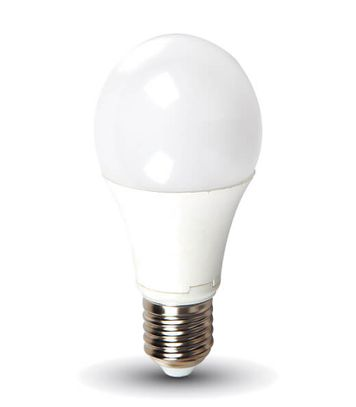 LED žiarovka E27 10W 806lm A60