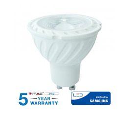 LED žiarovka V-TAC GU10 6,5W 480lm 110° SAMSUNG CHIP - 5 ROČNÁ ZÁRUKA!