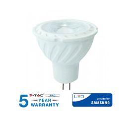 LED žiarovka V-TAC MR16 6,5W, 110°, 450lm, GU5,3, SAMSUNG CHIP - 5 ROČNÁ ZÁRUKA!