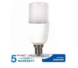 LED žiarovka V-TAC E14 8W, 660lm, T37, SAMSUNG CHIP - 5 ROČNÁ ZÁRUKA!
