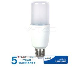 LED žiarovka V-TAC E27 8W, 725lm, T37, SAMSUNG CHIP - 5 ROČNÁ ZÁRUKA!