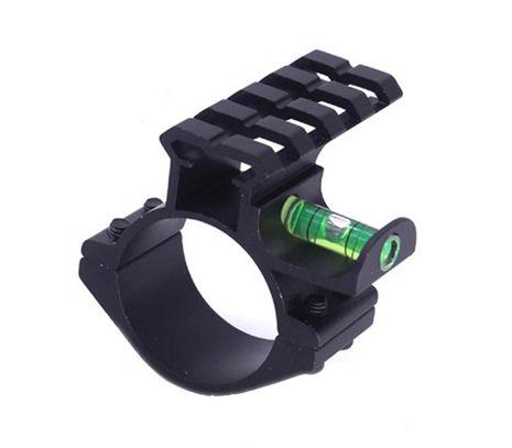 Montáž na puškohľad 30 - 25 mm s vodováhou