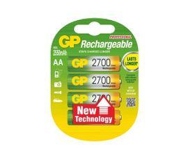 Nabíjacia batéria GP PROFESSIONAL 2700 mAh, AA NiMH, 4ks/ blister