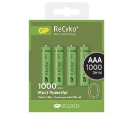 Nabíjacia batéria GP ReCyko+ 1000 AAA, 4 ks