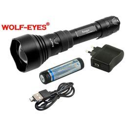 Nabíjateľná LED baterka Wolf-Eyes Ranger 56 TURBO, USB v.2017 PRS