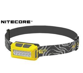 Nabíjateľná LED Čelovka Nitecore NU10, USB - žltá