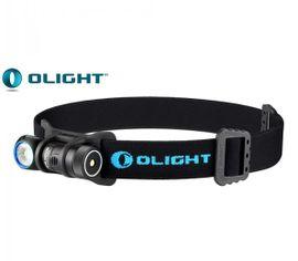 Nabíjateľná LED Čelovka Olight H1R NOVA + 1x Olight RCR123A 650mAh3,7V