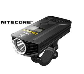 Nabíjateľné LED bicyklolé svietidlo Nitecore BR35, Praktik Set