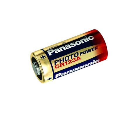 Panasonic CR123 Lithium Power 1600mAh