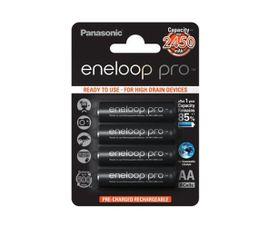 Panasonic Eneloop Pro AA NiMH 4ks 500 cyklov nabíjania