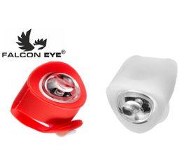Predné a zadné silikónové svetlo na bicykel Falcon Eye ZL1-1L