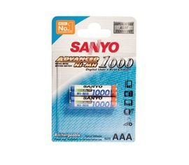 Sanyo AAA NiMH 2ks 800 cyklov nabíjania