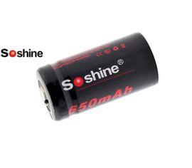 Soshine 16340 650mAh 3V, chránený