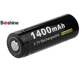 Soshine 18500 Li-ion 1400mAh 3,7V, chránený